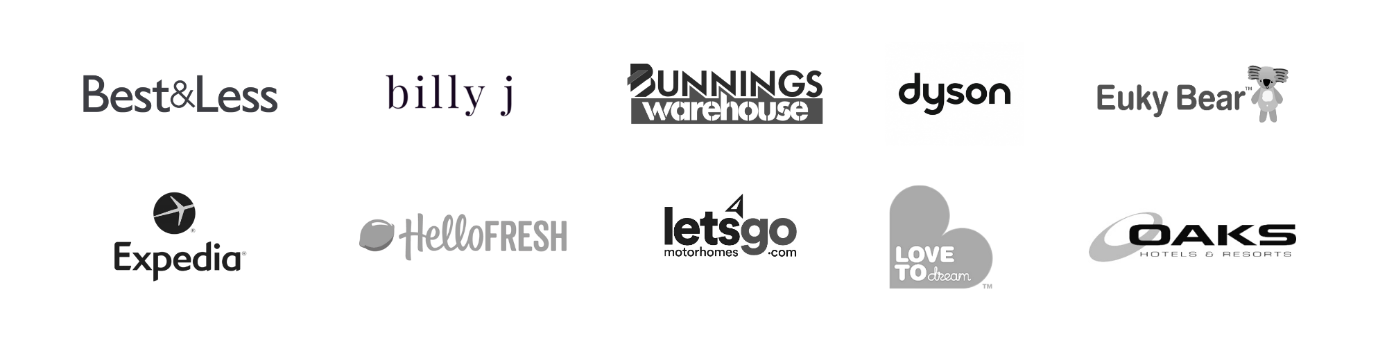 Brands I've Worked With